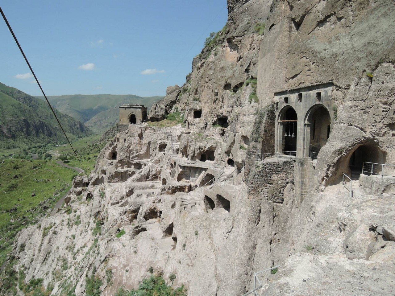 The cave monestary of Vardzia