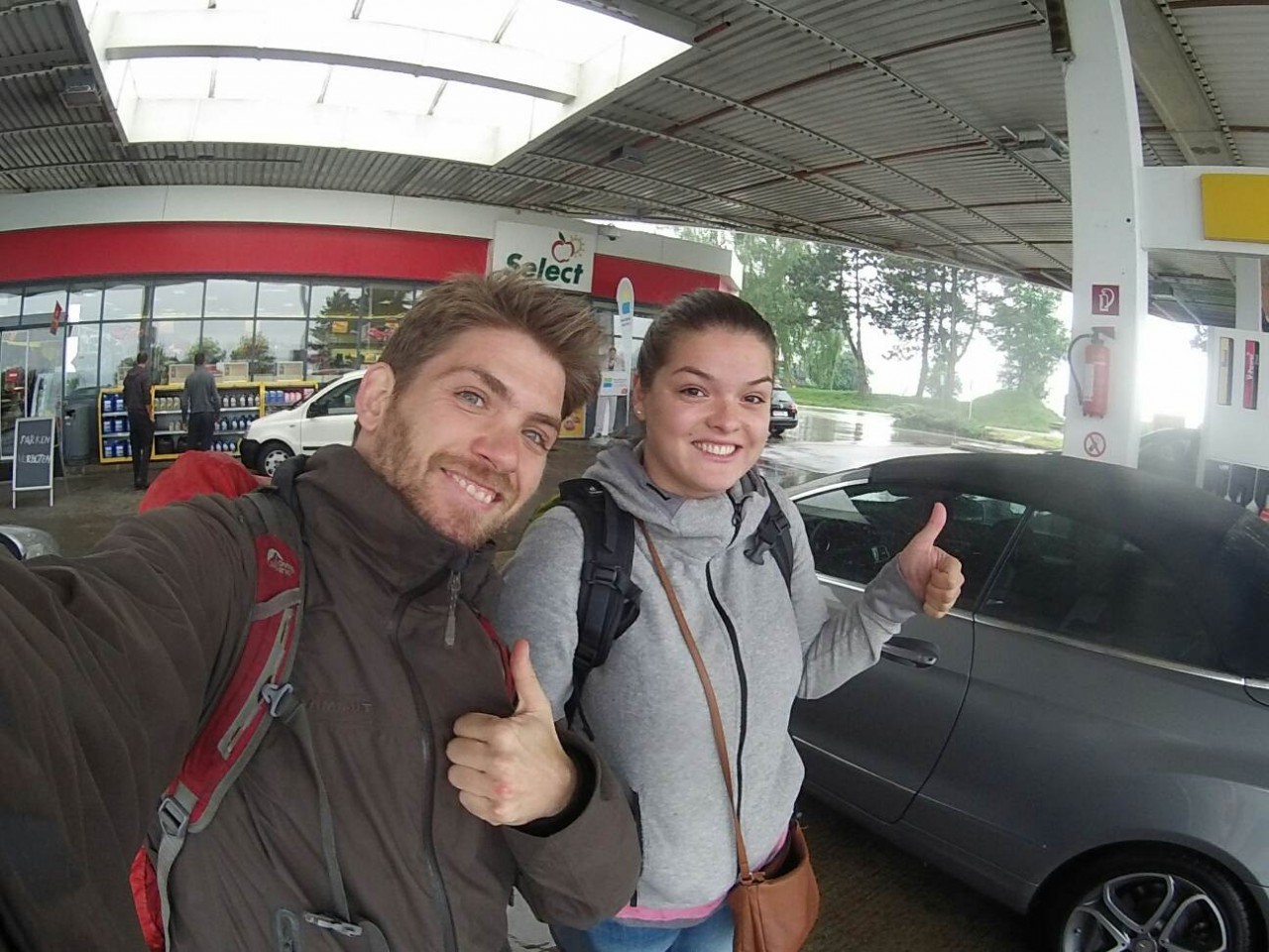 Hitchhiking in Germany
