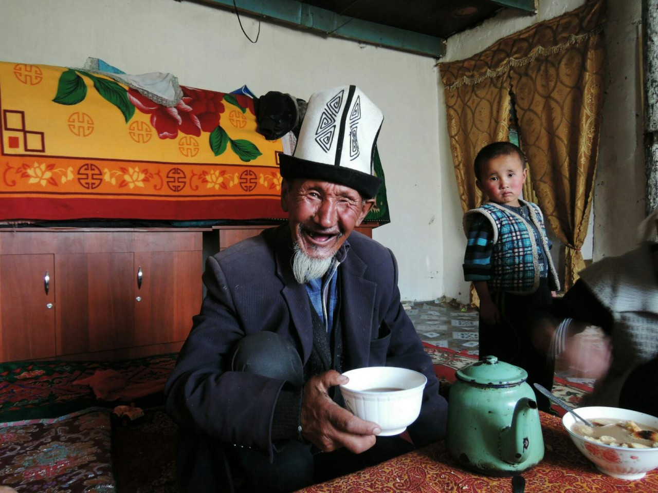 Old man in Tajikistan