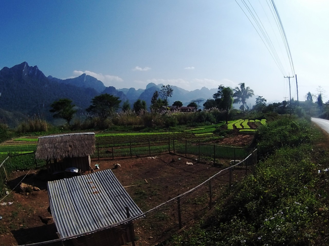 Northern Laos Fields