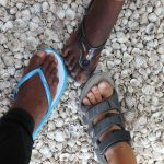 Our feet in Fadiouth