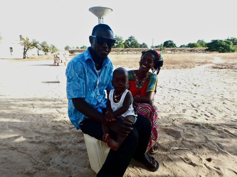 Friends in Senegal