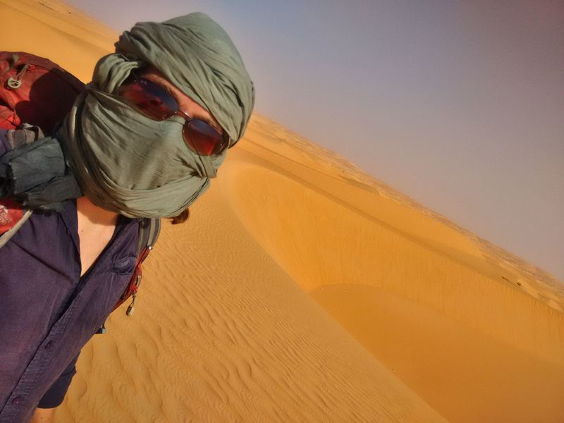 Sahara hiking Mauritania