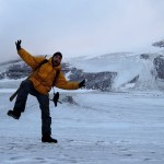 On the Longyear Glacier, Svalbard